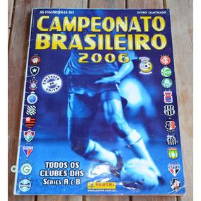 Álbum Brasileirão 2006 - Semi-completo
