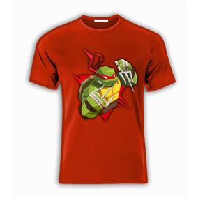 Playera Personajes Tortugas Ninja Para Toda La Familia