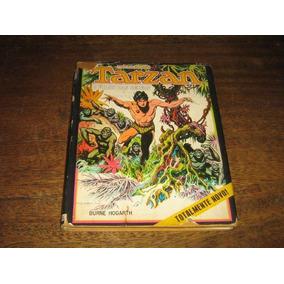 Tarzan O Filho Das Selvas 1973 Burne Hogarth Ebal Capa Dura