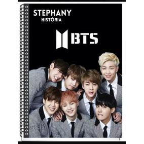 Cadernos 20 Materias Bts Personalizados