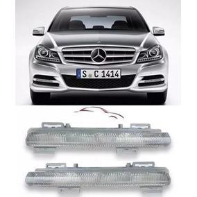 Farol Milha Led Mercedes C180 C200 Slk E 2012/2014 O Par