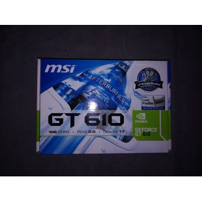 -tarjeta De Video Nvidia Geforce Gt 610 1gb Ddr3 Pci-e 2.0
