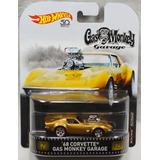 Hot Wheels Corvette Gas Monkey Garage - Empaque De Usa Nuevo
