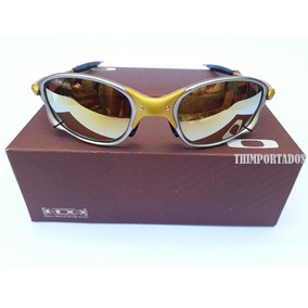 2b3cb7ab20a46 Juliet 24k Dourada - Óculos De Sol Oakley Juliet no Mercado Livre Brasil