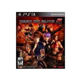 Jogo Novo Lacrado Dead Or Alive 5 Original Pra Playstation 3