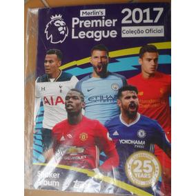 Álbum Premier League Inglês 2017 - Completo Pra Colar