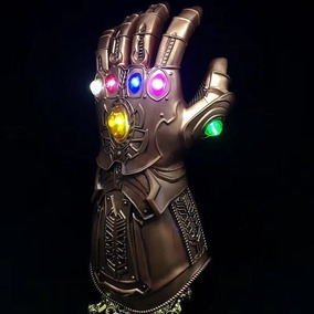 Luva Manopla Do Poder Avengers Thanos Led