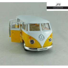 Carrinho Ferro Volkswagen Kombi Combi Perua 1962 Miniatura