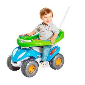 Mini Quadriciclo Passeio Infantil 2 Em 1 Meninos Bebês 942