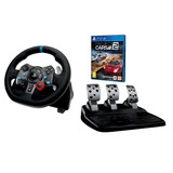 Logitech G29 Volante Pedales, Juego Project Cars2 Ps4 Gratis
