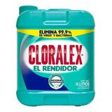 Cloro Cloralex El Rendidor 10 L Desinfecta Blanquea