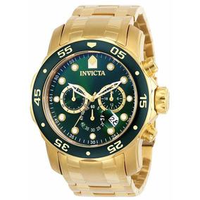 Relógio Invicta Pro Diver 0075 - Ouro 18k