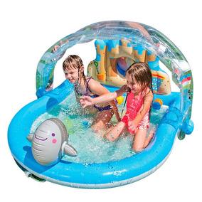 Centro Juegos Inflable Pileta Niños Intex Summer Lovin