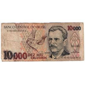Cédula Dez Mil Cruzeiros Frete Grátis
