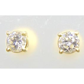 Brinco Solitario De Diamantes 60 Pontos Vs2 2.1 Gramas Ouro - Joias ... 652d5a7d4c