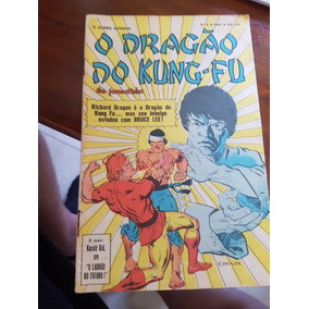 O Dragão Do Kung Fu Richard Dragon! Nº 8! Ebal!