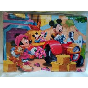 Rompecabezas Para Niños Mickey Mouse / Juego Didáctico