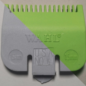 Peine Wahl Trampa Sombra 1/2 0.5 1/16 1.5mm Gris Verde