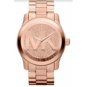 Relogio Michael Kors Strass Rose - Relógios De Pulso no Mercado ... 42f8701370