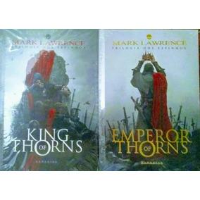 Livro King Of Thorns + Emperor Of Thorns - Darkside Lacrados