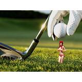 Camiseta De Golf Pin-up Girl De Perky Tees, Paquete De 6