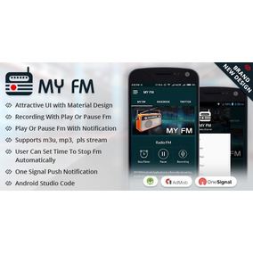 Script My Fm - Aplicativo Para Android Live Streaming
