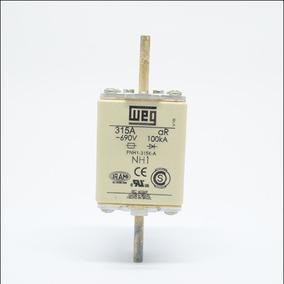 Fusível Ultra Rápido Tipo Nh Tamanho 01 315a Fnh01-315k