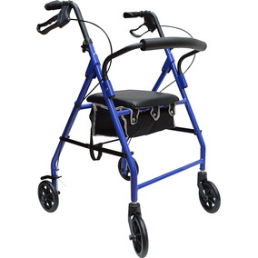 Andadera Rollator Ortopedica Con Asiento Envio Gratis