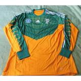 Camisa De Manga Longa Palmeiras Goleiro no Mercado Livre Brasil b4aa5a877a69c