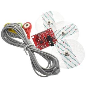Módulo Sensor Ad8232 Ecg Pulso Batimento Cardíaco Arduino