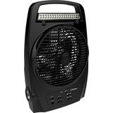 Ventilador Portatil Recargable Negro 20cm/8