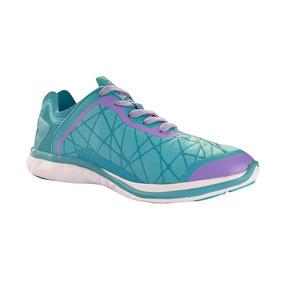 Zapato Tenis Casual Dama Mujer Moderno Verde Agua Kappa fc5c19c4b1f68