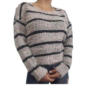 Sweter Combinado Mujer