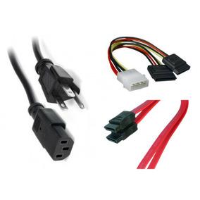 Combo Cables Molex A Sata, Sata, Corriente Para Pc
