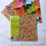 Motivo Geo, Papel Para Origami Malula 15 X 15 Cm M. Envio