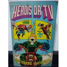 Hq Herois Da Tv 6 - Frete Gratis - Marvel Abril 1979 Rjhm