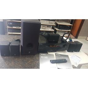 Receiver Yamaha Rx-v520 C/ Caixas E +