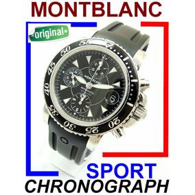 484ee8e1d68 Relogio Montblanc Sport Chronograph - Relógios no Mercado Livre Brasil