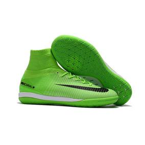 Chuteira Nike Mercurial Verde Limao Adultos Futsal - Chuteiras no ... 55f4338c048bd