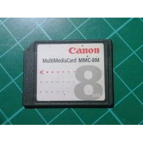 Memoria Mmc Canon 8mb Original Camaras