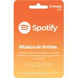 Tarjeta Spotify De 300 Pesos Te Da 3 Meses Premium