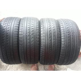 4 Pneus Usados Aro 16 205/55 Da Pirelli