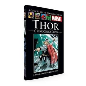 Livro Graphic Novels Marvel Salvat Thor O Renascer Dos Deus