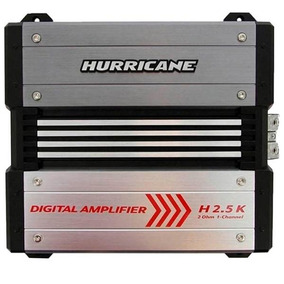 Modulo Amplificador Hurricane 2500w Rms 1 Canal 2 Ohms