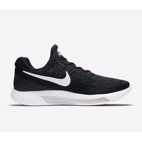 Nike Hombres Lunarepic Bajo Flyknit 2 Correr Zapatos Negro 8 e28f02d089a51