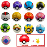 Pokebola 7cm + Pokemon Random Pokeball