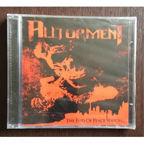 Cd Alltorment - The End Of Peace Season