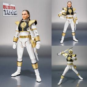 Boneco Sh Figuarts White Power Ranger Branco Tommy Rangers