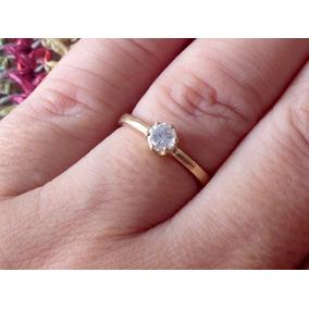 14047cea162b1 Anel Solitario Diamante 30 Pts - Joias e Bijuterias no Mercado Livre ...