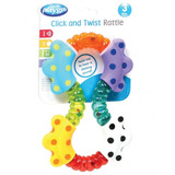 Sonajero De Bebe Click And Twist Rattle Playgro
